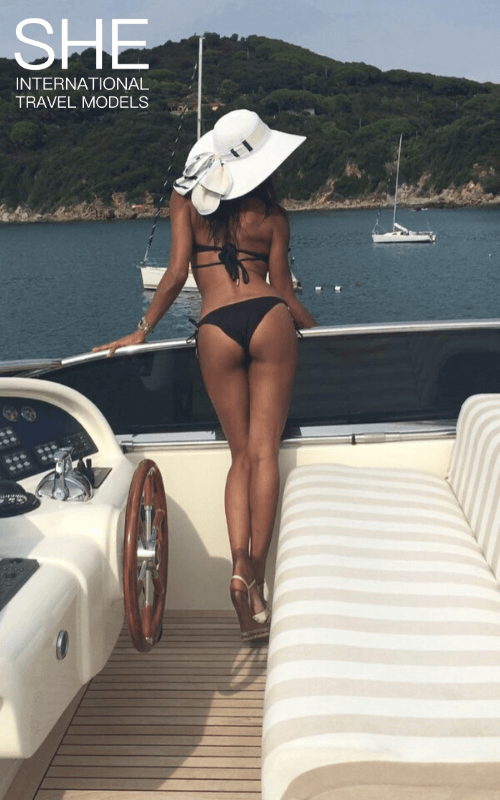 AVa on a boat