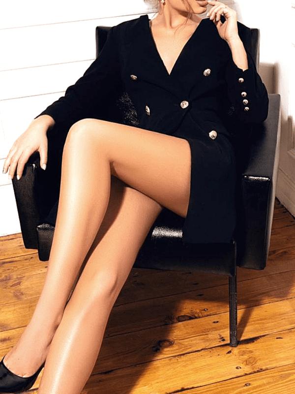 long legged escort model