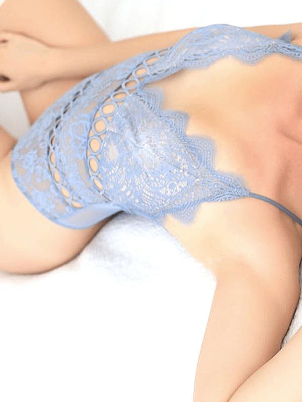 escort model in sexy lingerie
