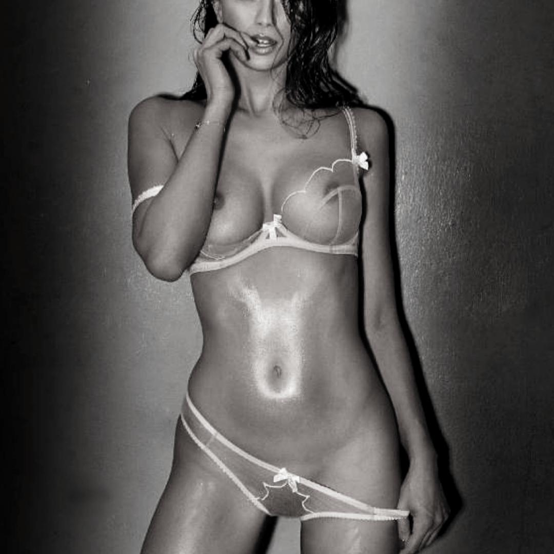 elite Vienna escort model in sexy lingerie
